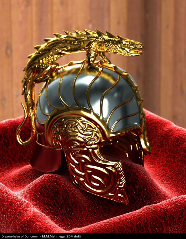 Dragon-helm of Dor-Lomin